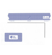 Briefumschläge Revelope Professional Din Lang+ mit Fenster selbstklebend 90g weiß 500 Stück