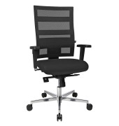 Bürodrehstuhl Sitness X-Pander Plus mit Armlehnen schwarz SI959WGT200