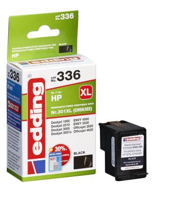 Druckerpatrone schwarz ersetzt HP 301XL 18-336