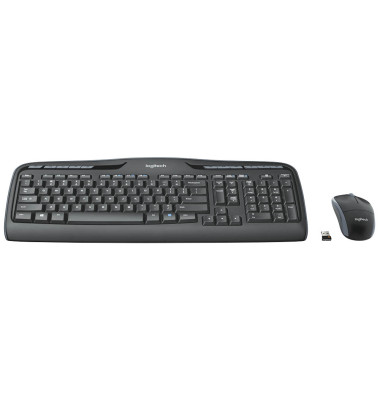 Wireless Desktop MK330 Tastatur-Maus-Set kabellos 920-008533