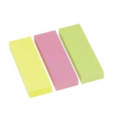 3x 100 Streifen Brillantmix Haftmarker farbsortiert 5671-39-PK3