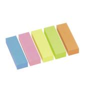 5x 100 Streifen Brillantmix Haftmarker farbsortiert 5679-39-PK-5