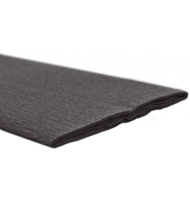 Feinkrepppapier 50cmx2,5m Krepppapier schwarz