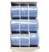 4743003010904 Kordel 3mmx4m weiß/blau
