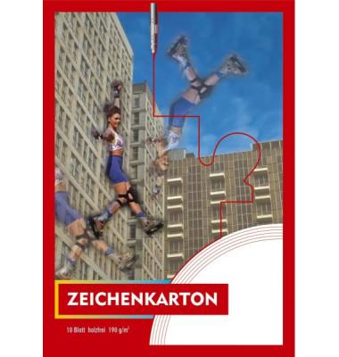 PENIG 2124 10BL Zeichenkartonblock A4 190g