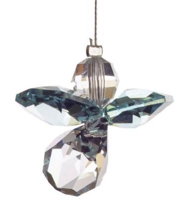 5080bz Swarovski-Kristall Schutzengel klein Blauer Zirkon