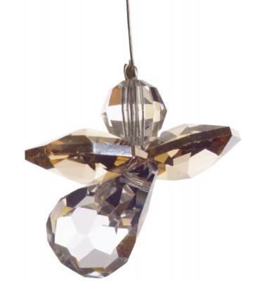 5080go Swarovski-Kristall Schutzengel klein Gold