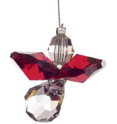 5080gt Swarovski-Kristall Schutzengel klein Granat