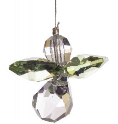 5080pe Swarovski-Kristall Schutzengel klein Peridot