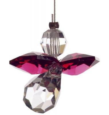 5080ry Swarovski-Kristall Schutzengel klein Rubin