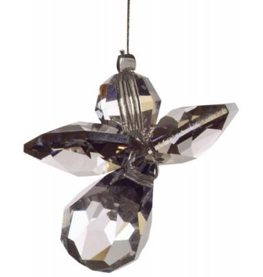 5080sil Swarovski-Kristall Schutzengel klein silber