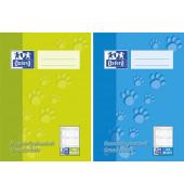 Hausaufgabenheft 1-4.Klasse A5 farbig sortiert 24 Blatt