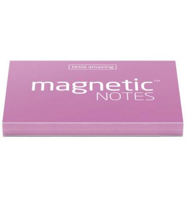 Haftnotizblock S10 selbsthaftend (nichtklebend)  70 x 50 mm pink 100 Blatt
