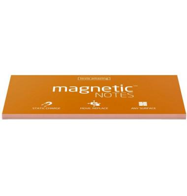 Haftnotizblock L30 selbsthaftend (nichtklebend)  200 x 100 mm orange 100 Blatt