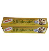 Biofolienbeutel - 18 Liter, grün, 6 Stück