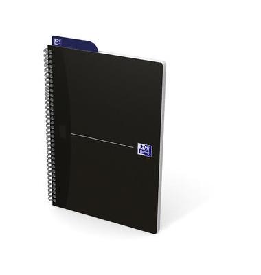 Spiralnotizblock Essentials - B5, kariert, 90 Blatt, sortiert