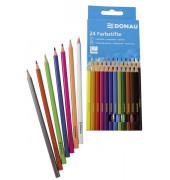 Buntstifte 3810001 24-farbig sortiert 5 x 175mm Kartonetui