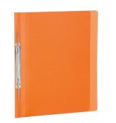 Spiral-Schnellhefter 19537 A4 orange-transparent Kunststoff Amtsheftung