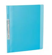 Spiral-Schnellhefter 19540 A4 hellblau-transparent Kunststoff Amtsheftung