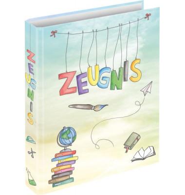 Zeugnismappen-Ringbuch 46509 Schooldoodle A4 4-Ring Ø 20mm