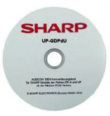 Software-konvertierungstool für Sharp-Kassen - GoBD-/GDPdU-Software