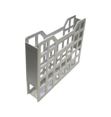 Ordnungsbox f.A4 vertikal hellgrau 335x220x50mm Gitterb.