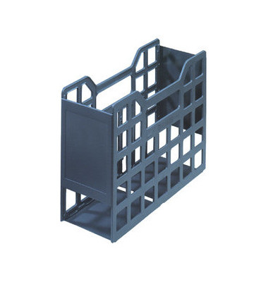 Ordnungsbox f. A5 vertikal anthraz. 235x165x105 ABS