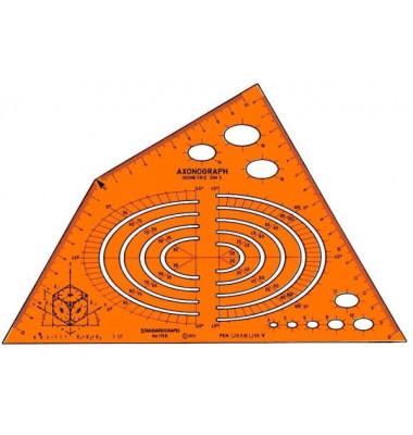 Schablone Isometric