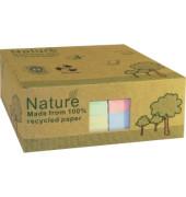 Haftnotiz 125 x 75 mm (B x H 3 x pastellgrün, 3 x pastellrosa, 3 x pastellgelb, 3 x pastellblau 100 Bl./Block 12 Block/Pack.