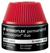 STAEDTLER 48848-2 Tankstelle Lumocolor rot