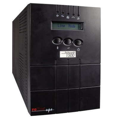 USV-Anlage online ProSecure III 1000 3min 152 x 238 x 420 mm (B x H x T) mit Software