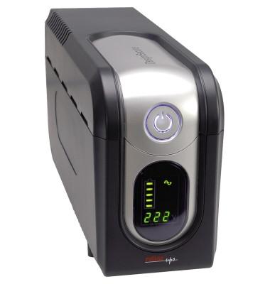 USV-Anlage interaktiv DesignSecure 825 2min 105 x 168 x 334 mm (B x H x T) mit Software