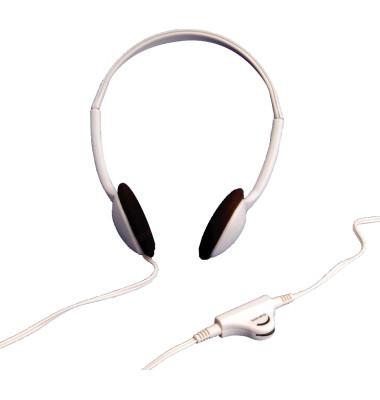 Kopfhörer PCs grau