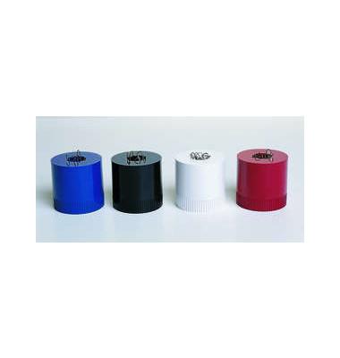 Klammernspender Clip-Boy gefüllt karminrot 70x70mm