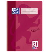 Schulheft Touch A4 Lineatur 21 liniert fuchsia 16 Blatt