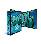 7149 Motivordner Graffiti-Cool - A4, 70 mm