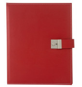 Dokumentenmappe Cezanne - 26 x 34, rot, Kunstleder