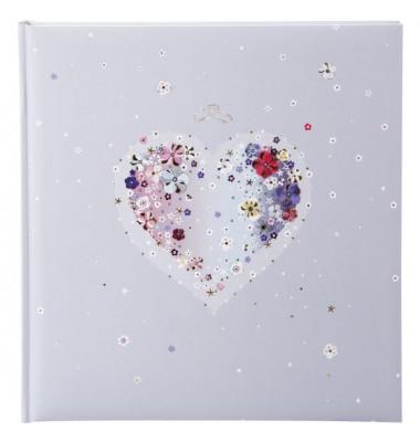 Fotoalbum Hochzeit Hearts of Flowers - 30 x 31 cm, 60 Seiten