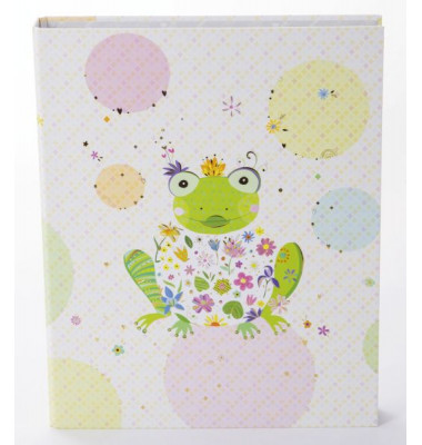 Motivordner Happy Frog - A4, 2-Ring schmal