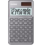 Taschenrechner SL-1000SC Solar-/Batterie LCD-Display grau 1-zeilig 10-stellig