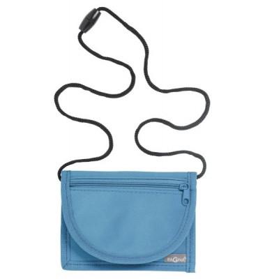 Brustbeutel Trend - 13 x 10 cm, hellblau