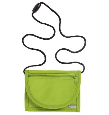 Brustbeutel Trend - 13 x 10 cm, lindgrün