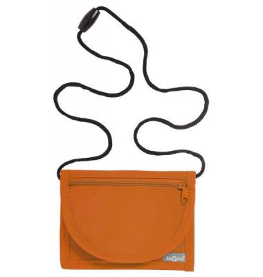 Brustbeutel Trend - 13 x 10 cm, orange