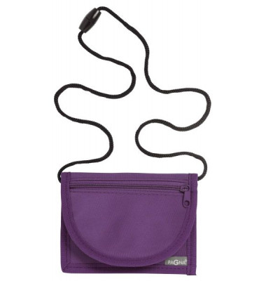 Brustbeutel Trend - 13 x 10 cm, lila