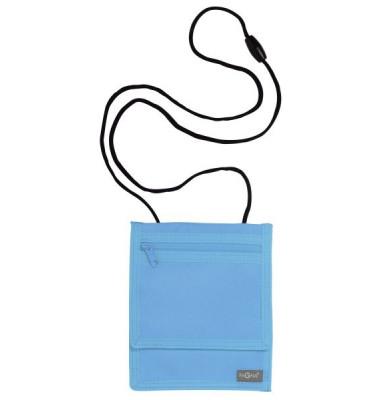 Brustbeutel Style up - 16 x 13 cm, hellblau