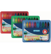 28225 10 Stück sortierte Farben Wachsmalstiftetui Box