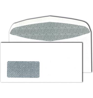 C6/5 Kuvertierhüllen couvertmatic Fenster nassklebend 80g weiß 114x229mm 1000 Stück