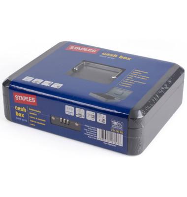 Geldkassette 2349660 dunkelgrau 300x90x240mm