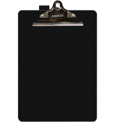 Klemmbrett Klemme kurze Seite schwarz A4 235x355mm