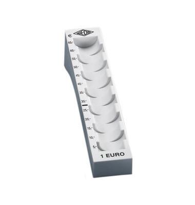 Münzrillen für 1 Euro l.grau 180x45mm